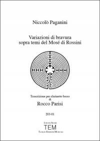 Variazioni di bravura sopra temi del Mosé di Rossini