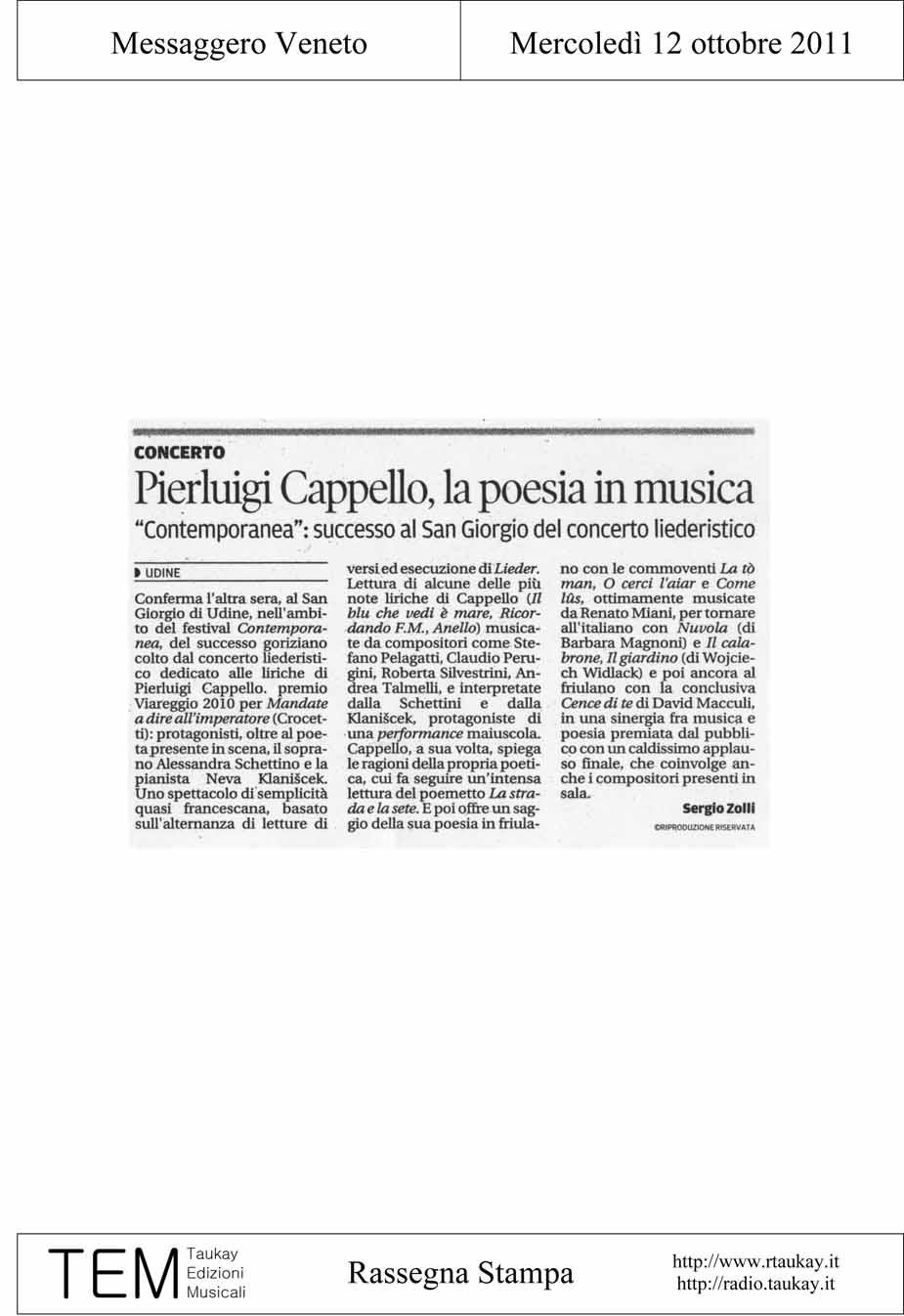 Contemporanea 2011 - Rassegna stampa 97328b93e05e